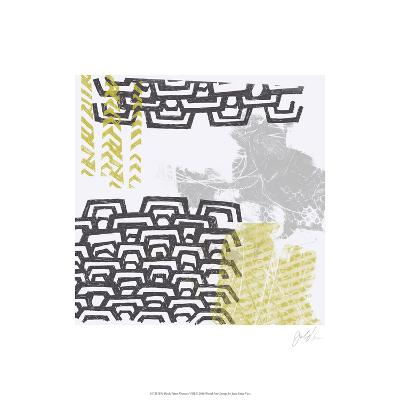 Block Print Abstract VIII-June Erica Vess-Limited Edition
