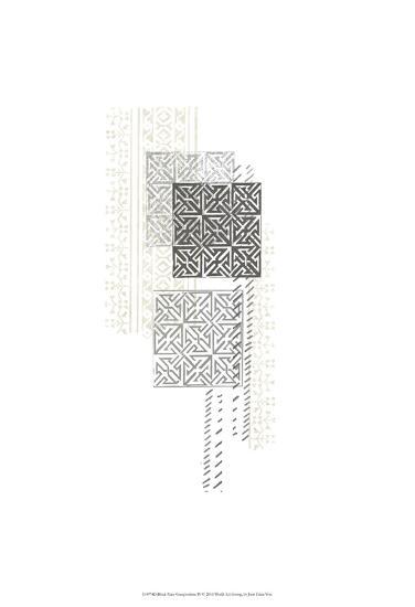 Block Print Composition IV-June Erica Vess-Art Print