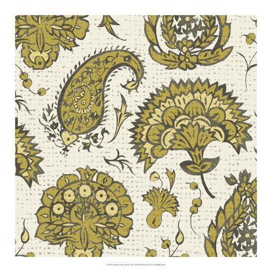 Block Print Tapestry II-Chariklia Zarris-Art Print
