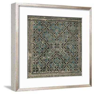 Block Print Textile II-Vision Studio-Framed Art Print