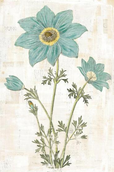 Bloemen Boek VII-Sue Schlabach-Art Print