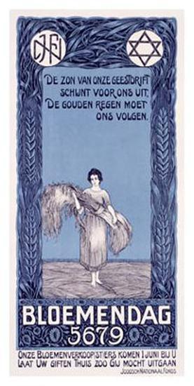 Bloemendag-D. Hoeden-Giclee Print