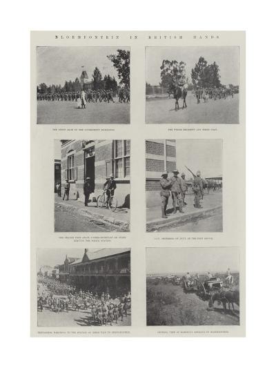 Bloemfontein in British Hands--Giclee Print
