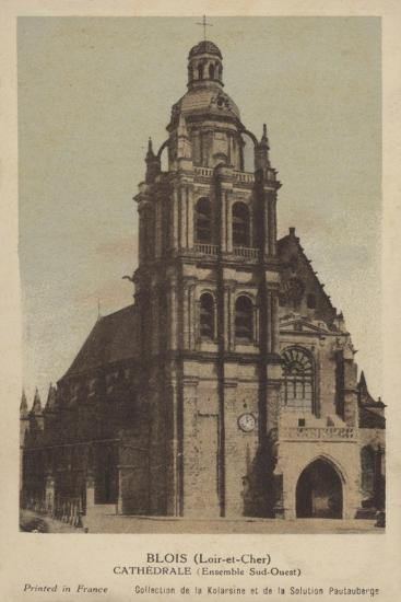 Blois, Cathedrale--Giclee Print