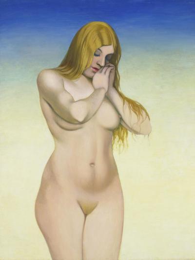 Blond Nude, 1921-Felix Vallotton-Giclee Print