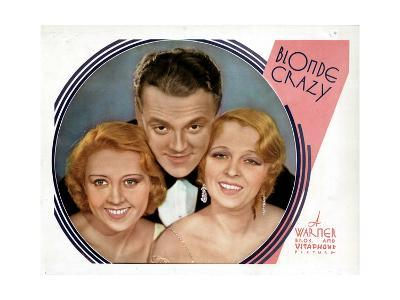 Blonde Crazy, from Left, Joan Blondell, James Cagney, Noel Francis, 1931--Giclee Print