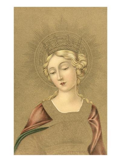 Blonde Madonna--Art Print