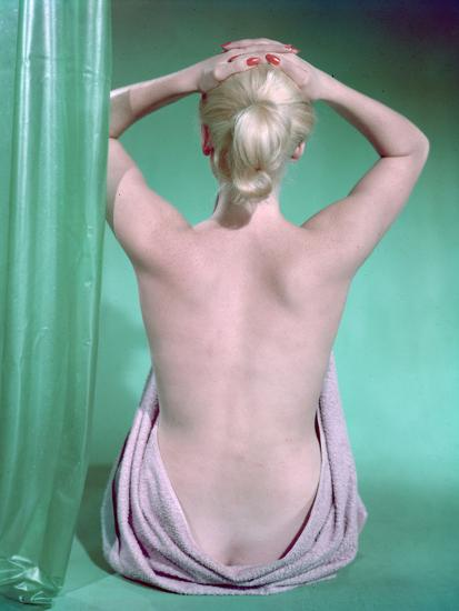 Blonde with Ponytail-Charles Woof-Photographic Print
