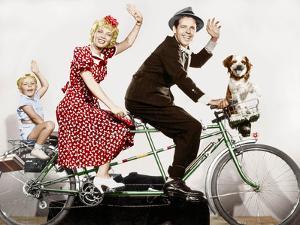 Blondie De Franckstrayer Avec Penny Singleten, Larry Simms Et Arthur Lake, 1938