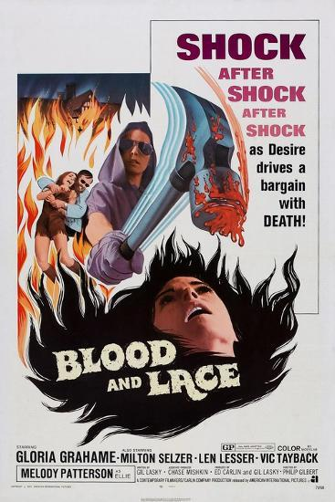 Blood and Lace, 1971--Art Print