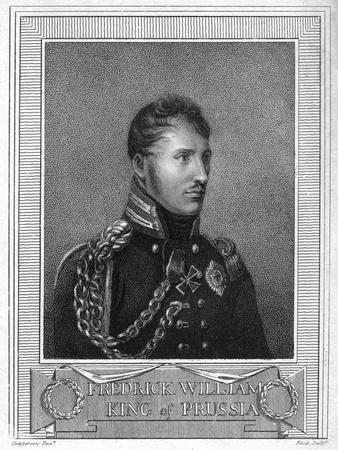Frederick William III, King of Prussia, 19th Century