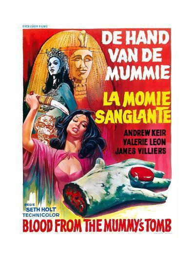 Blood from the Mummy's Tomb, (AKA De Hand Van De Mummie, Aka La Momie Sanglante), 1971--Giclee Print