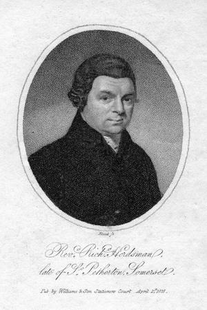 Reverend Richard Herdsman, 1816