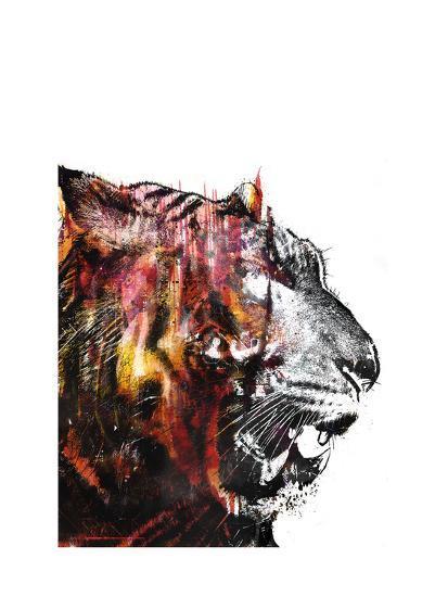 Bloodbeat II-Alex Cherry-Art Print
