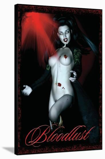 Bloodlust at Twilight--Stretched Canvas Print