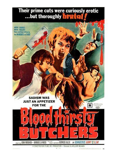 Bloodthirsty Butchers, 1970--Photo