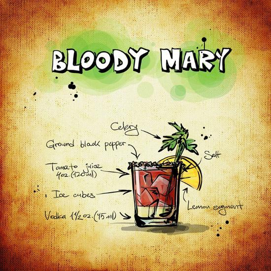 Bloody Mary Cocktail-Wonderful Dream-Art Print