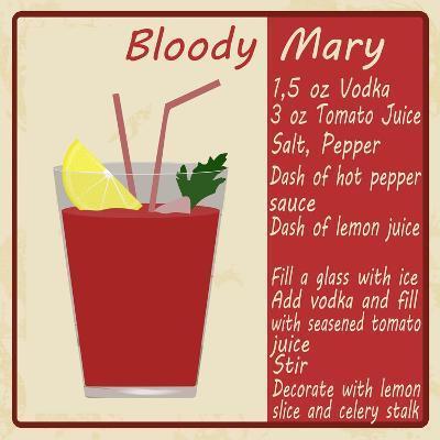 Bloody Mary Cocktail-radubalint-Art Print