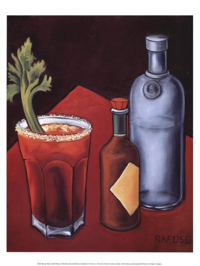 Bloody Mary-Will Rafuse-Art Print