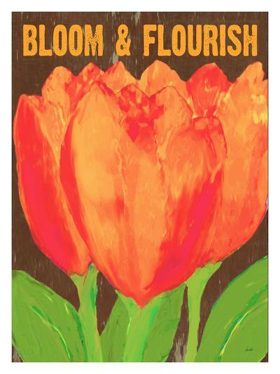 Bloom And Florish-Lisa Weedn-Giclee Print
