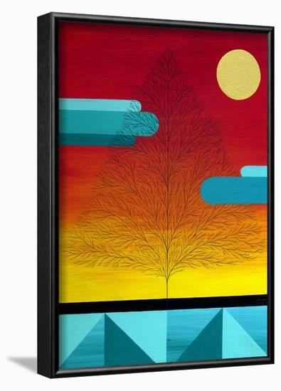 Bloom-Mark Warren Jacques-Framed Art Print