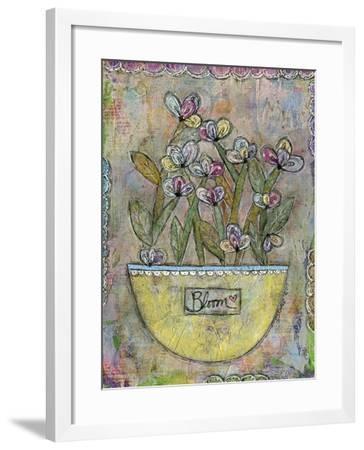 Bloom-Funked Up Art-Framed Giclee Print