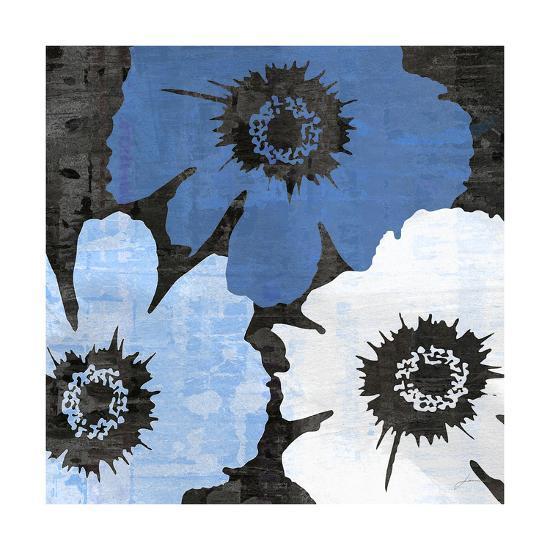 Bloomer Squares XIV-James Burghardt-Art Print