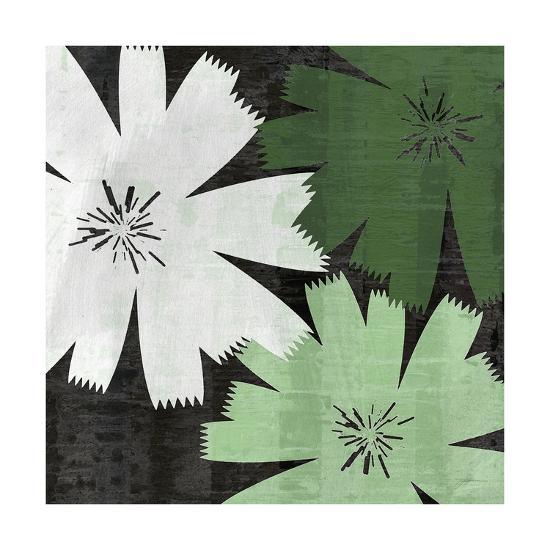 Bloomer Squares XVIII-James Burghardt-Art Print