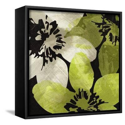Bloomer Tile V-James Burghardt-Framed Canvas Print