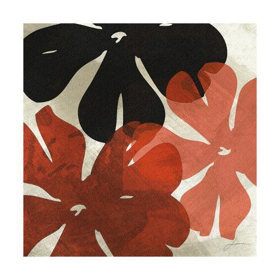 Bloomer Tiles IV-James Burghardt-Art Print