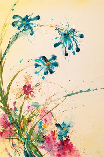 Blooming Blue-Jan Griggs-Art Print