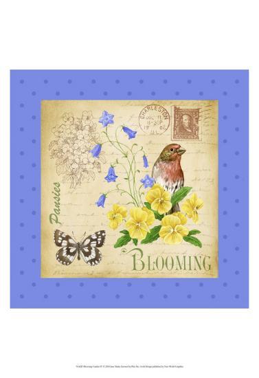 Blooming Garden IV-Jane Maday-Art Print