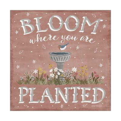 Blooming Garden VII-Laura Marshall-Art Print