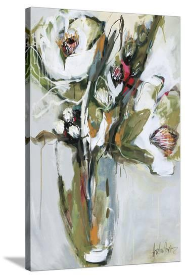 Blooming in November -Angela Maritz-Stretched Canvas Print