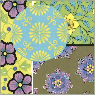 Blooming Medallion I-Chariklia Zarris-Art Print
