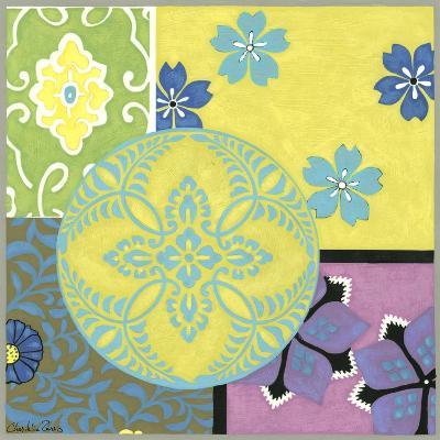 Blooming Medallion II-Chariklia Zarris-Art Print