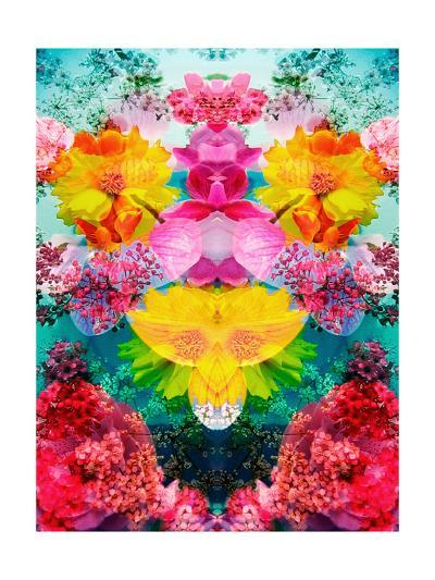 Blooming Ornament No 2-Alaya Gadeh-Art Print