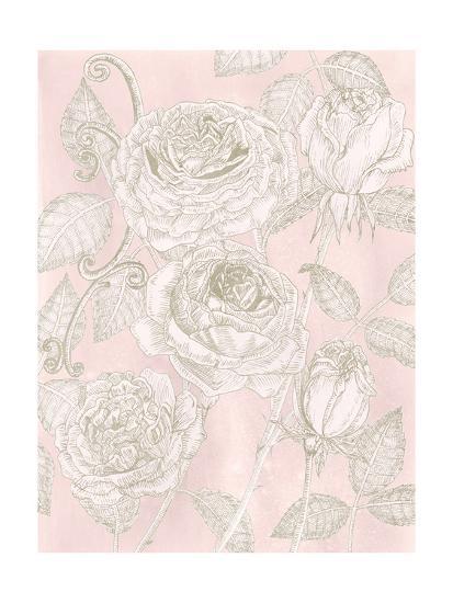Blooming Roses I-Melissa Wang-Art Print