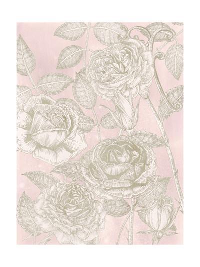 Blooming Roses II-Melissa Wang-Art Print
