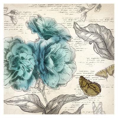 Blooming Teal II - Mini-Aimee Wilson-Art Print
