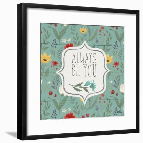 Blooming Thoughts VII-Janelle Penner-Framed Art Print