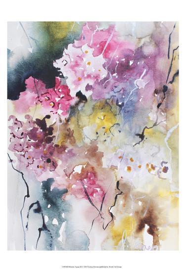 Blooms Aquas III-Leticia Herrera-Art Print