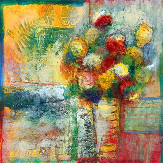 Blooms II-Josiane York-Art Print