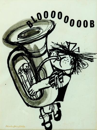 Blooooob!-Brenda Brin Booker-Giclee Print