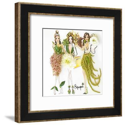 Blossom Beauties-Meredith Wing-Framed Art Print
