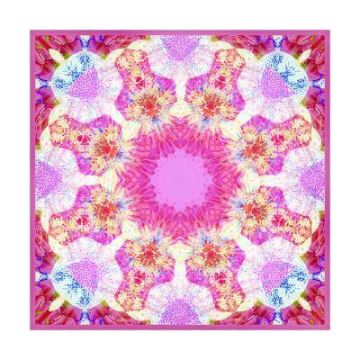 Blossom Circle Mandala-Alaya Gadeh-Art Print