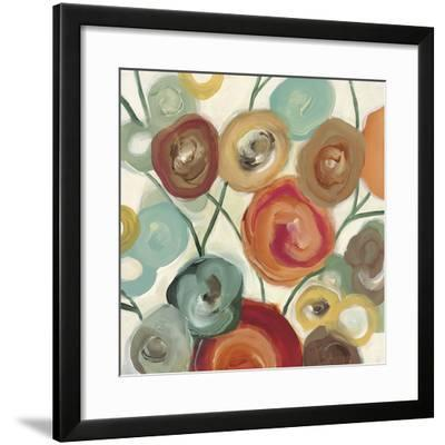 Blossom I-Cat Tesla-Framed Art Print