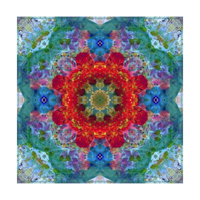 Blossom Mandala XXO-Alaya Gadeh-Art Print