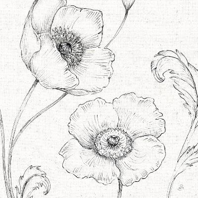 Blossom Sketches I-Daphne Brissonnet-Art Print