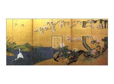 Blossom Time-18th Century Chinese School-Art Print